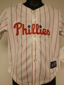 New Philadelphia Phillies Toddler Size 3T Majestic Jersey