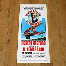 IL TEMERARIO locandina poster The Great Waldo Pepper Robert Redford Sarandon q59