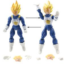 VEGETA -16Cm- 2 PERSONAGGI - Dragon Ball Z Super Sayan Figure Modellino Statuina