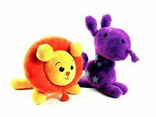 2014 Kids Preferred Huggaloons Plush Balloon Animal Stuffed Purple Horse Lion