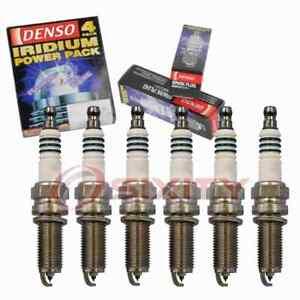 6 pc Denso 5356 Iridium Power Spark Plugs for 101 905 622 12290-R40-A01 rw