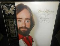 LP  Dave Mason – Mariposa De Oro    JAPAN  1978  PROMO   OBI  MINT