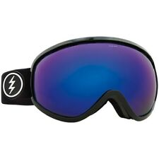 Electric Visual Mesher Negro Brillante Gafas de Snowboard ( Brose / Cromo Azul)