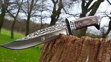 Jagdmesser Messer Knife Bowie Buschmesser Coltello Cuchillo Couteau Hunting NEU