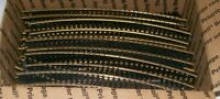 "100+ ATLAS (& other brands of tracks) HO 18"" Radius Curved Sectional SNAP Track"