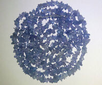 Tanzanite Chips Gemstone Beads 3mm-4mm AAA 36 Inch 100% Natural & Genuine Stone