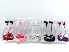 Sleek  Earbuds Earphone Headset Headphone for iPhone MP3 iPod PSP CD/DVD 3.5mm.