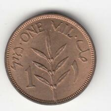 PALESTINE 1939 1 Mil British Mandate Trade Coin UNCIRCULATED