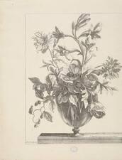 MONNOYER, JEAN-BAPTISTE. [VASES OF FLOWERS. CA. 1680]