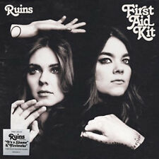FIRST AID KIT LP Ruins + DOWNLOADS GATEFOLD Sleeve Vinyl + White Skr. IN STOCK