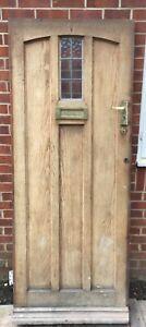 ANTIQUE OAK EXTERIOR DOOR PERIOD OAK FRONT DOOR