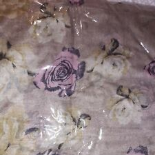 Floral Pattern Scarf in its original packaging, perfect for spring/summer