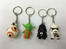 Wholesale 12Pcs Cartoon Key Chains Metal 3D Stereo Key Ring Party Gifts