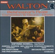 Walton: Belshazzar's Feast; Coronation Te Deum; Gloria, New Music
