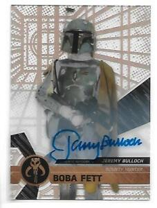 2017 Star Wars High Tek Jeremy Bulloch as Boba Fett  Autograph Auto