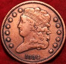 1832 Philadelphia Mint Copper Classic Head Half Cent 13 stars