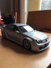 Kyosho Mercedes Benz CLK DTM AMG Coupe Metallic Silver Die Cast Model