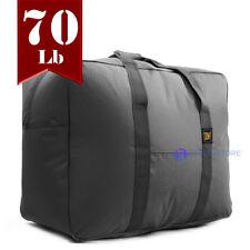 Lightweight 70 Lb Cap Square Duffel Bag Cargo Bag Maletin Travel Bag Gym Black