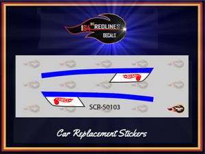 "1971 Hot Wheels ""Racer Rig"" Replica Sticker SCR-0103"