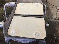 1996-1998 suzuki X90 inner t-top gray cloth trim shade panels LH & RH oem
