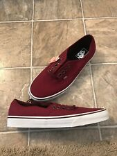VANS Authentic Skate Shoe Rumba Red/Port Royale Men's Size 11