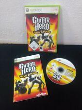 Xbox 360 ★ Guitar Hero World Tour  ★ UK/ESP