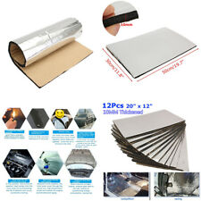 10mm 12pcs Self Adhesive Closed Cell Foam Car Sound Proofing Insulation 50X30cm