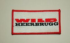 Vintage Wild Heerbrugg Swiss Surveying Optical Instruments Co. Patch NOS 1980s