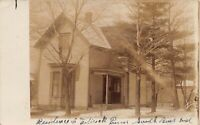 Real Photo Postcard Residence House Home in South Bend, Indiana~126675