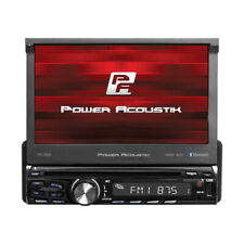 POWER ACOUSTIK PD-720B CAR 1DIN DVD BLUETOOTH STEREO W/ MOTORIZED 7
