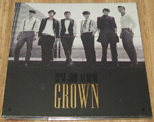 2PM 3RD ALBUM GROWN A Version K-POP CD + PHOTO BOOKLET & FOLDED POSTER SEALED