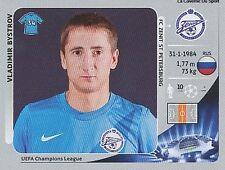N°181 BYSTROV # RUSSIA FC.ZENIT CHAMPIONS LEAGUE 2013 STICKER PANINI