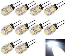 10X G4 5 LED SMD 5050 camping-car RV Marine ampoule Lampe Super Blanc
