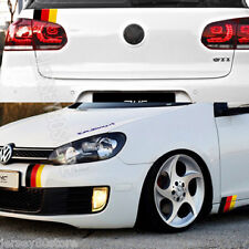 DIY Gloss Color Kit German Germany Flag Decal Sticker (Fit for VW Benz Audi OPEL