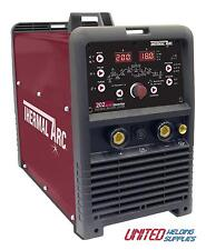 Thermal Arc Arcmaster 202 AC/DC 200 Amp AC/DC HF TIG Inverter package