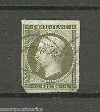 FRANCE - 1860 YT 11a - NAPOLEON - EMPIRE FRANC.