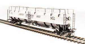 Broadway Limited 6317 HO NCG Cryogenic Tank Car (Pack of 2)