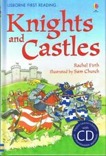 NEW - KNIGHTS AND CASTLES (Usborne First Reading, Level 4) Book + CD FREE POST
