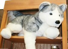 "BARKER plush 30"" LARGE HUSKY stuffed animal DOG Douglas Cuddle"