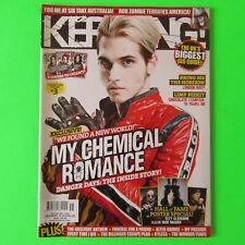 KERRANG Magazine 1334 - MY CHEMICAL ROMANCE Rare Mikey Cover #3 (OCT 2010) SLASH