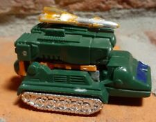 Blaster 35 Mr-23 GoBots 1983 Tonka Bandai green rocket launcher figure vintage
