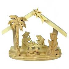 Christmas Nativity - Small - Olive Wood - Handmade in Israel - Fair Trade