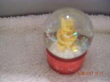 Disney Store - Pooh  Valentine   Water Globe    -  Figure