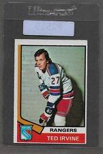 ** 1974-75 OPC Ted Irvine #264 (VGEX) Hockey Card Set Break ** P2519