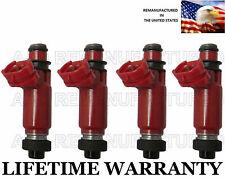 Set of 4 OEM Denso Fuel Injectors For 1998-1999-2000-2001 Chevrolet Metro 1.3L