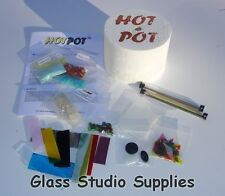 HotPot Maxi Microwave Kiln with Bullseye Fusing Glass Starter Kit (HP02)