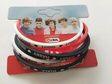 1D ONE DIRECTION ORIGINAL UNUSED OFFICIAL WRIST BAND SET FROM 2011
