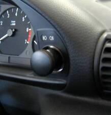 D BMW E36 Compact Chrom Lichtschalterringe / Nebelschalter Edelstahl
