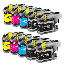 10PK LC103 XL High Yield Ink Cartridge Set For Brother MFC-J870DW MFC-J875DW