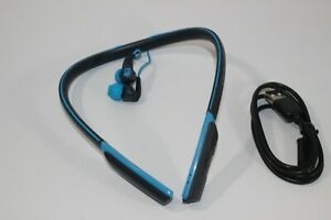 Skullcandy S2CDW Blue Navy Method Wireless Earbud Headphones In-Ear Iphone Andro